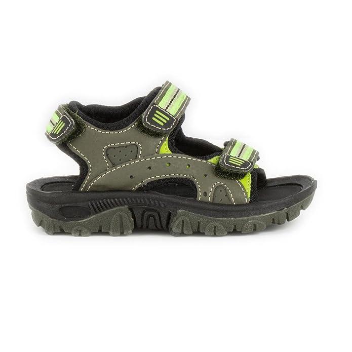 DemoMax Demo Max Boys Green Sports Sandal - Size 2 UK - Green:  Amazon.co.uk: Shoes & Bags