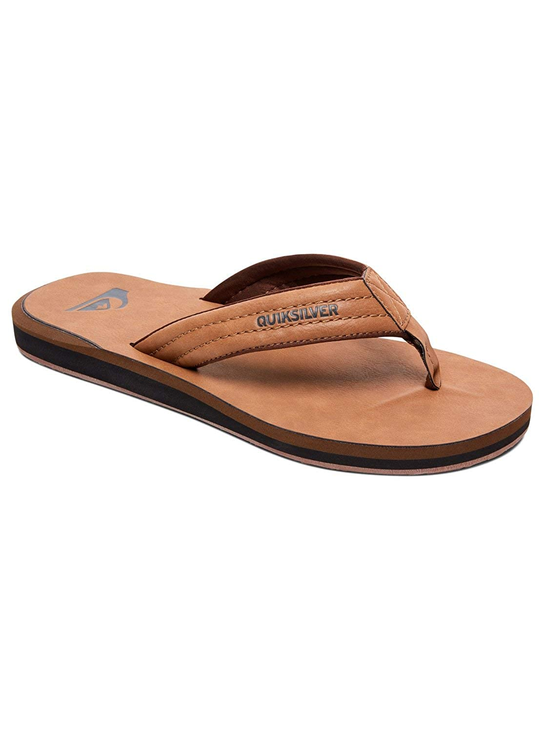 TALLA 39 EU. Quiksilver Carver Nubuck-Sandals For Men, Chanclas para Hombre