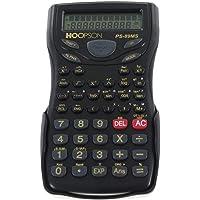 Calculadora Cientifica 240 Funcoes 12dig.Visor 2linha - Unidade, Hoopson, PS-89MS, Preta