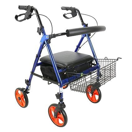Andador Anciano | Aluminio Ultraligero | Plegable | Fácil De Usar ...