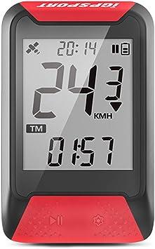 iGPSPORT iGS130 (Versión española) - Ciclo computador GPS Bicicleta Ciclismo. Cuantificación y grabación Datos y rutas. Sencillez de Uso. IPX7. ROJO