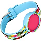 French Bull - Misfit Flash Replacement Band, Misfit Flash Wristband, Misfit Flash Accessory Band (Condensed Ziggy)