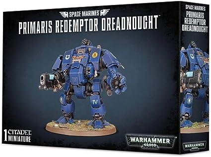 Warhammer 40.000 Easy To Build Space Marines Primaris Redemptor Dreadnough...