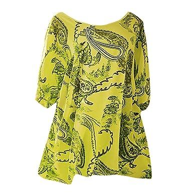 Camisetas Mujer, Tops y Blusas Patios Grandes Camiseta de ...