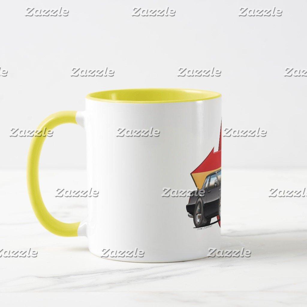 Amazon.com: Zazzle Buick Grand National Coffee Mug, Red Two-Tone Mug 11 oz: Kitchen & Dining