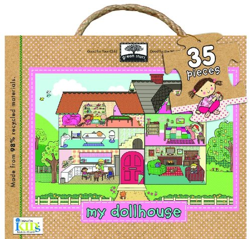 Green Start Giant Floor Puzzle: My Dollhouse (Green Start Giant Floor ()