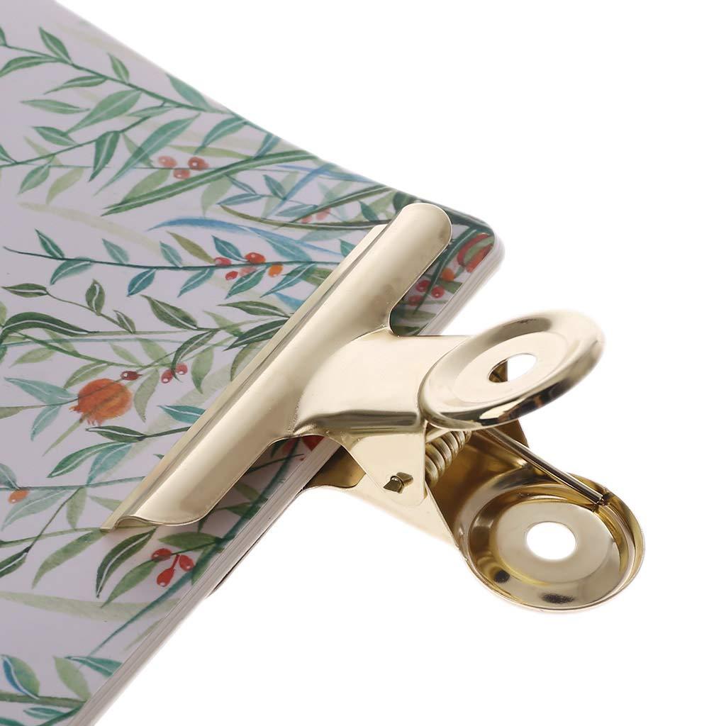 ZOOMY Metal Bulldog Grip Clip Alimentare Sealer Bag Clamp Hanging Paper Document Raccoglitore di Biglietti Materiale Scolastico per Ufficio 63mm