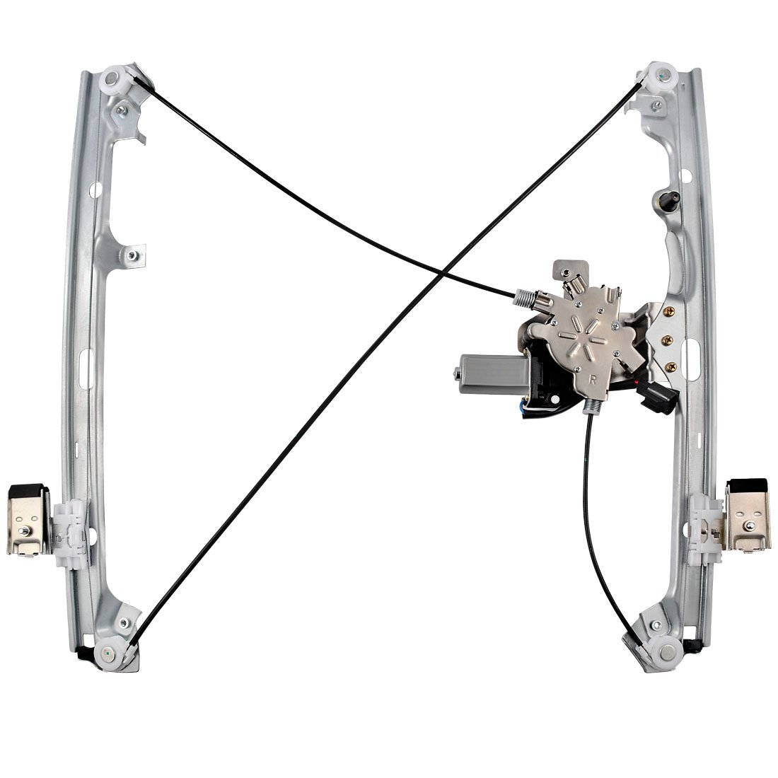 Front Right Power Window Regulator w//o Motor for Chevrolet Avalanche Cadillac