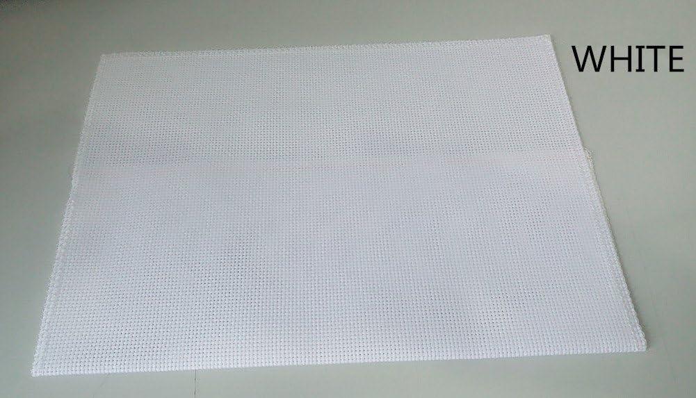 CaptainCrafts Bianco motivo: famiglia di lupi bianco Kit per ricamo a punto croce