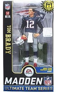McFarlane Toys EA Sports Madden NFL 19 Ultimate Team Tom Brady England  Patriots (Original Version 02f4ca31d