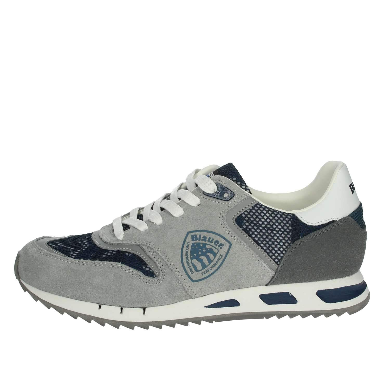 Grå  blå blåer 9SMEMPHIS06  CAM skor skor skor Man  senaste stilar