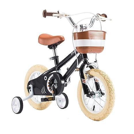 Axdwfd Infantiles Bicicletas Bicicleta para Niños con Ruedas De ...
