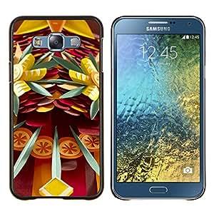 Stuss Case / Funda Carcasa protectora - Arte Dagas Peligro Abstracto Diversión - Samsung Galaxy E7 E700