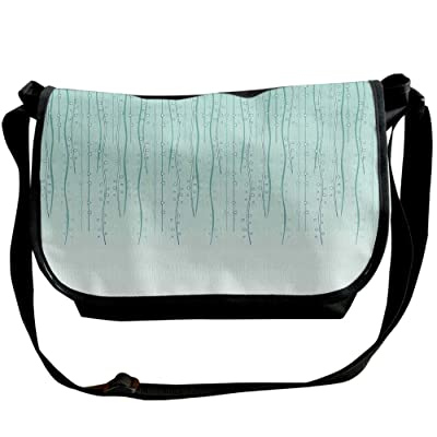 Lovebbag Soft Color Strings Ivy With Little Circle And Triangles Hanging Art Print Crossbody Messenger Bag