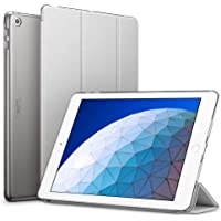 "ESR Yippee Trifold Smart Case for iPad Air 3 10.5"" 2019, Auto Sleep/Wake Lightweight Stand Case, Hard Back Cover for iPad Air (3rd Gen) 10.5"" 2019, Silver Gray"