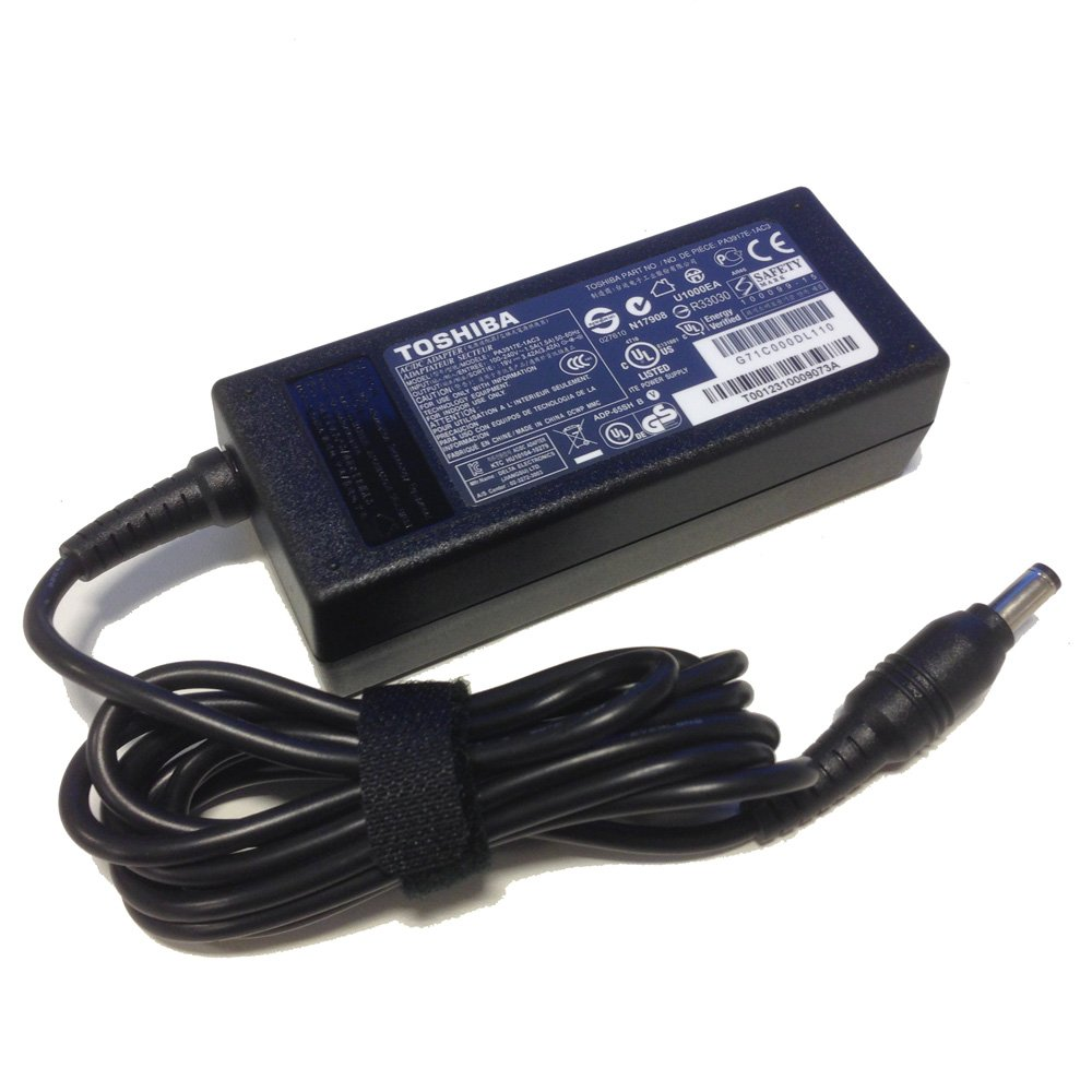 My Toshiba laptop charger adapter got too hot and now it won't work. What should I do?