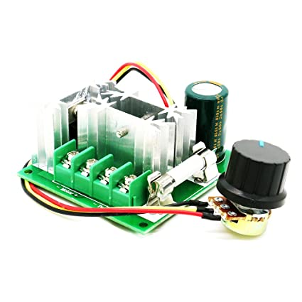 Image result for 6V-90V 15A PWM DC Motor Speed Controller with/ Knob--High Efficiency,