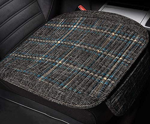 Car Seat Pad Car Drivers Seat Cover Universal Car Interior Seat Protector Mat Pad Seat Cushion Car Seat Cover Car Seat Back Cushion Pad Mat Interior Seat for Auto Office Chair Truck Suv Van Wheelchair