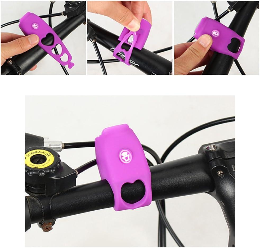 Aubess Timbre para Bicicleta de Monta/ña Sirena Ciclismo Timbre electr/ónico Altavoz electr/ónico para Bicicleta Bicicleta de Carretera