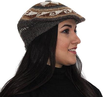 Soft Alpaca Wool Woven French Beret Cap Hat