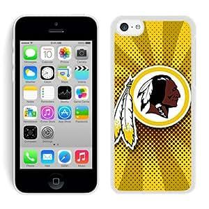 DIY Custom Phone Case For iPhone 5C Washington Redskins 30 White Phone Case For iPhone 5C Cover Case