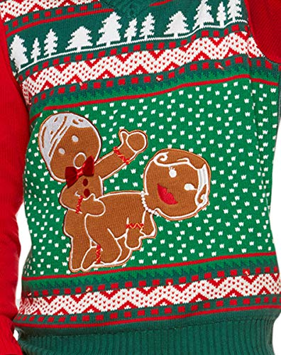 Spencer Gifts Light Up Ugly Christmas Sweater , Humping