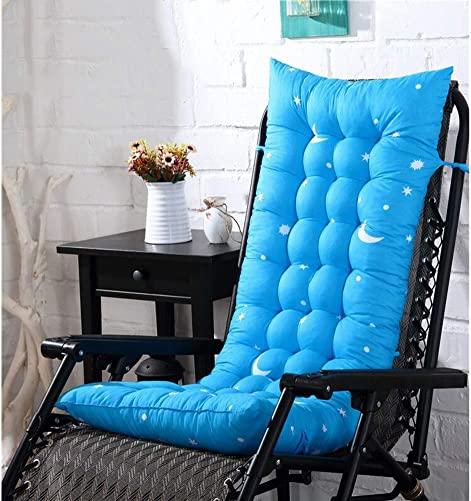 Folding Rocking Chair Cushion,Sun Lounger Cushion Patio Recliner Chair Pad Mat