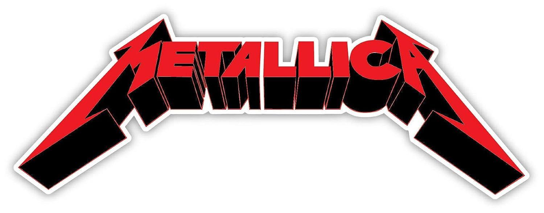 Amazon.com: Edwin grupo de empresas Metallica calcomanía 2 ...