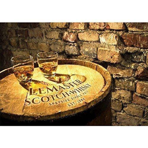 SCOTCH WHISKY BARREL HEAD (Glenmorangie Single Malt Scotch)