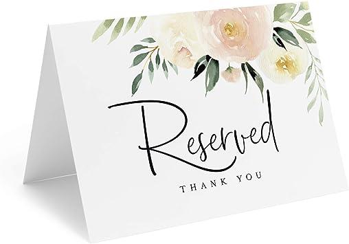 Amazon.com: Bliss Collections - Carteles de boda con diseño ...