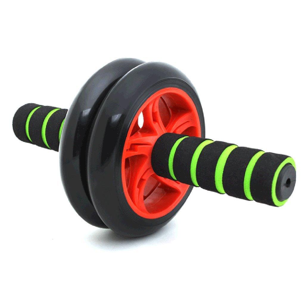 Abdominal Rad Männer Bauchmuskeln Fitnessgeräte Hause Anfänger Authentische Damen Sport Bauch Push-ups Roller (Farbe     5)