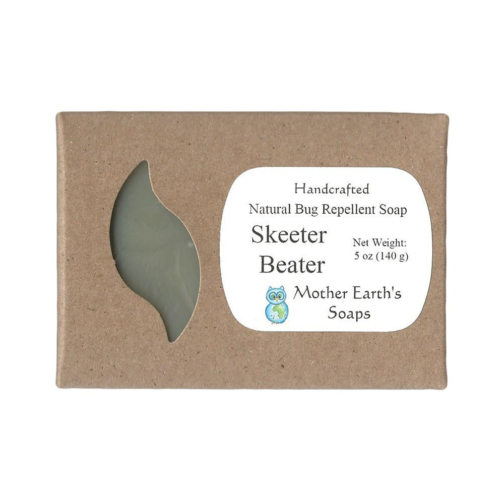 Amazon.com: Mother Earth\'s Soaps Skeeter Beater Bug Repellent Soap ...