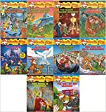 Geronimo Stilton Series Collection Set : Books 41-50 : Mighty Mount Kilimanjaro / This Hotel Is Haunted / The Way of the Samurai / The Mystery in Venice / Run for the Hills Geronimo / The Haunted Castle / Save the White Whale