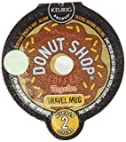 Coffee People Donut Shop Coffee Travel Mug Keurig Vue Portion Pack, 48 Count