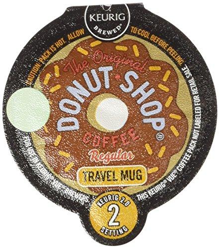 Coffee People Donut Shop Coffee Travel Mug Keurig Vue Portion Pack, 48 (Donuts Coffee Mug)