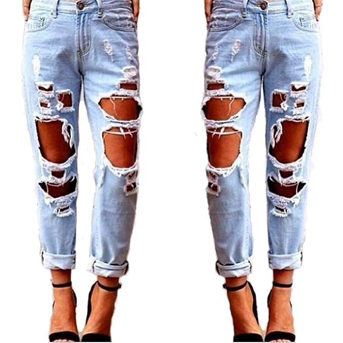 Elodiey Señoras De Moda Sexy Jeans Mujer Sexy Pantalones De ...