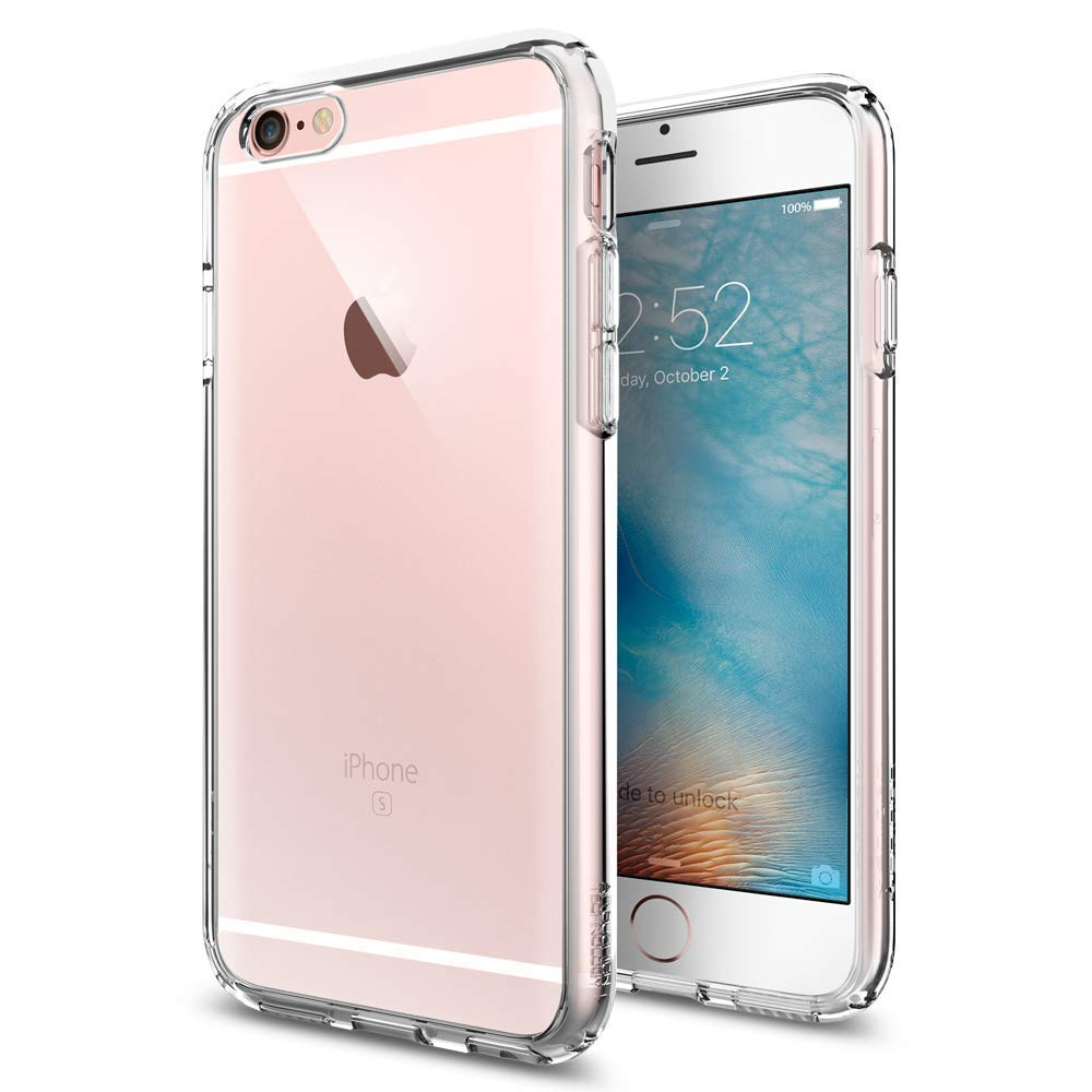 Spigen Ultra Hybrid iPhone 6S Case with Air Cushion Technology and Hybrid Drop Protection for iPhone 6S 2015 - Crystal Clear