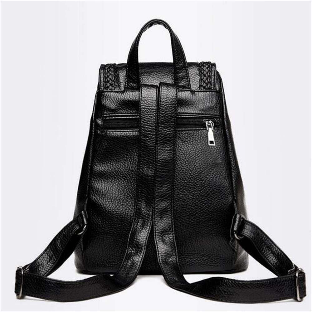 Fashion backpack female small waterproof backpack soft leather pu casual student bag backpack