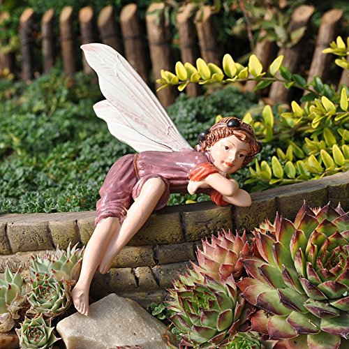 Amazoncom Miniature Fairy Garden Elderberry Fairy Home Kitchen