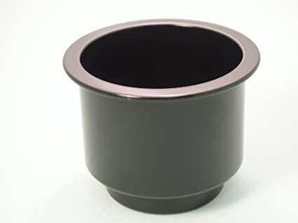 Black Plastic Cup Holder Insert Boat Rv Sofa Or Poker Table