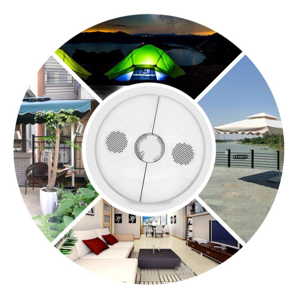 Outdoor Light Tent Light Patio Umbrella Light, Bluetooth Speakers and USB Rechargeable for Patio Umbrella Camping Tents Nightly Leisure Time Garden Outdoor Lamp (Size : OneSize) by LAMPSJN