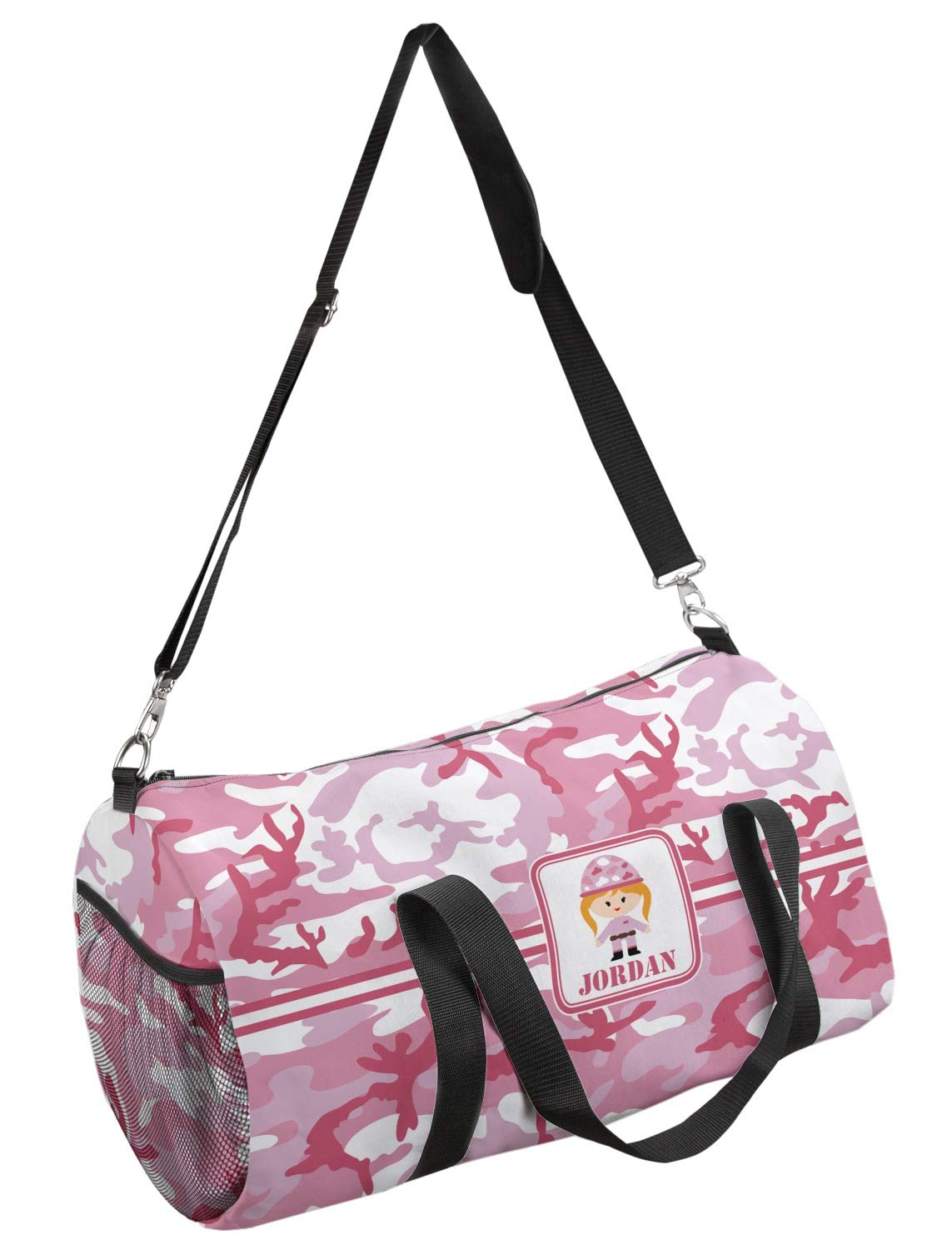 Multiple Sizes YouCustomizeIt Pink Camo Duffel Bag Personalized