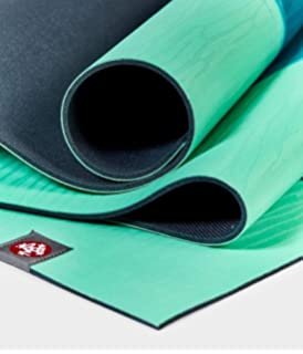 Manduka eko Lite Yoga and Pilates Mat, Thunder, 4mm: Amazon ...