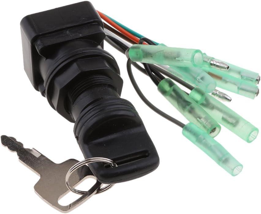 Teile 37110 92E01 FLAMEER Schl/üsselschalter Z/ündung F/ür Suzuki Au/ßenbordmotoren