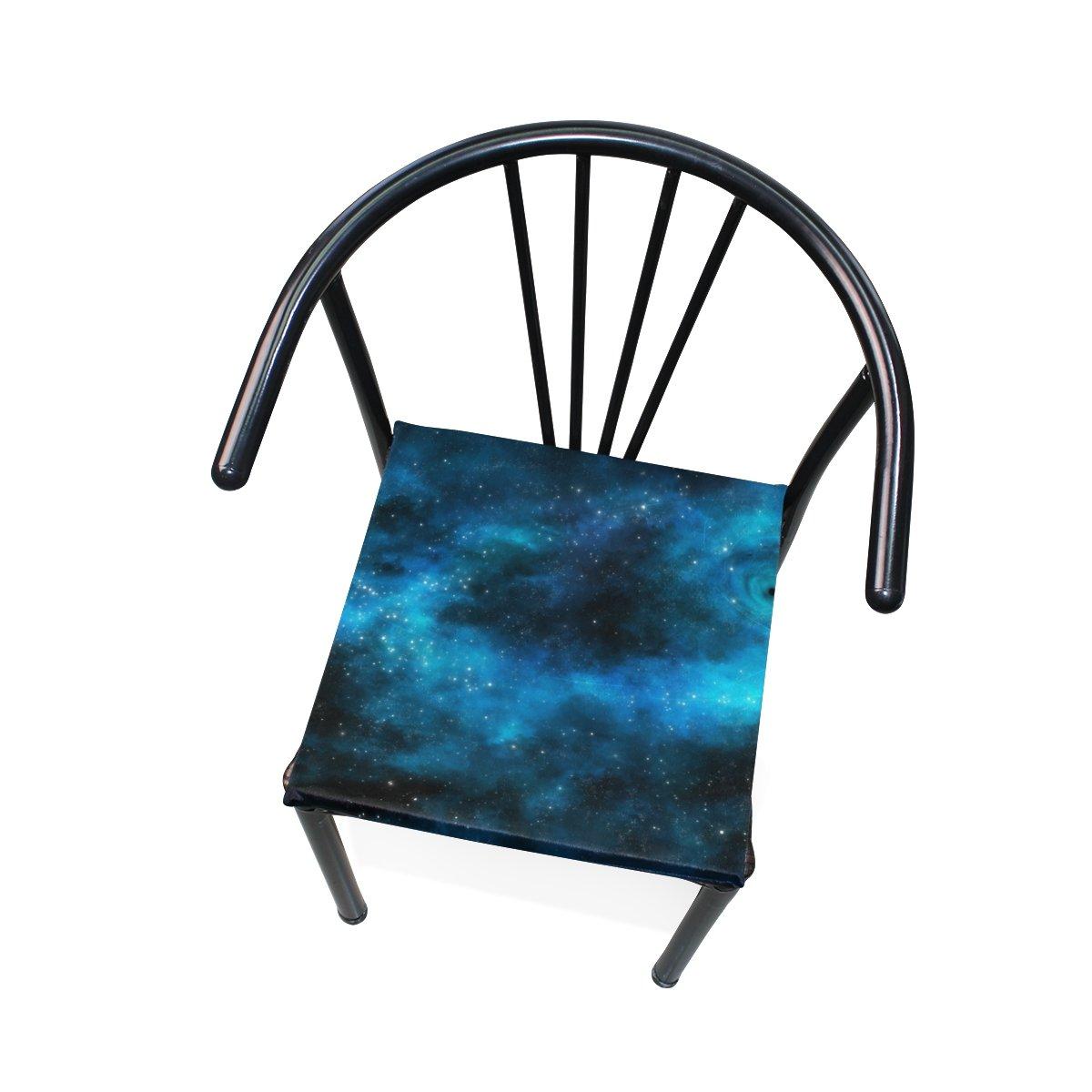Amazon.com: Xinxin cojín de asiento hermoso Galaxy cojines ...
