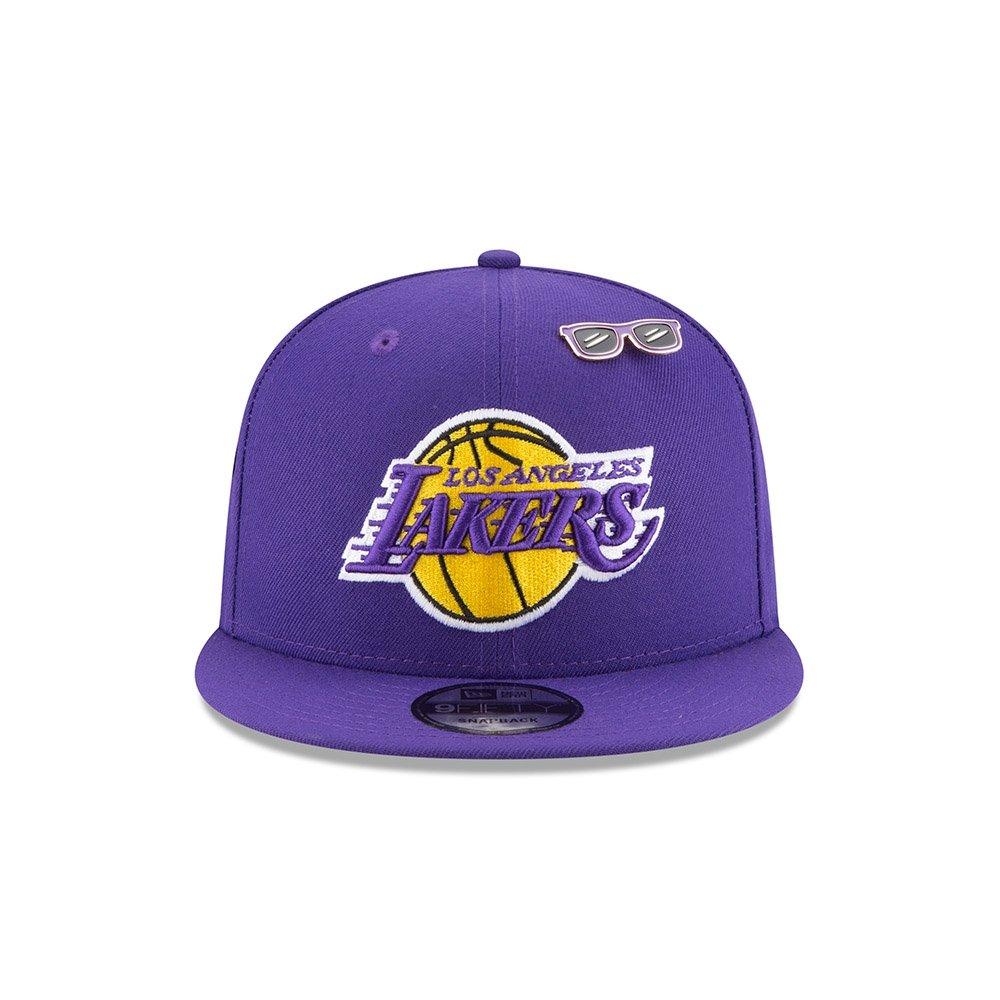 9057c5852477ef Amazon.com : New Era Los Angeles Lakers 2018 NBA Draft Cap 9FIFTY Snapback  Adjustable Hat- Purple : Sports & Outdoors