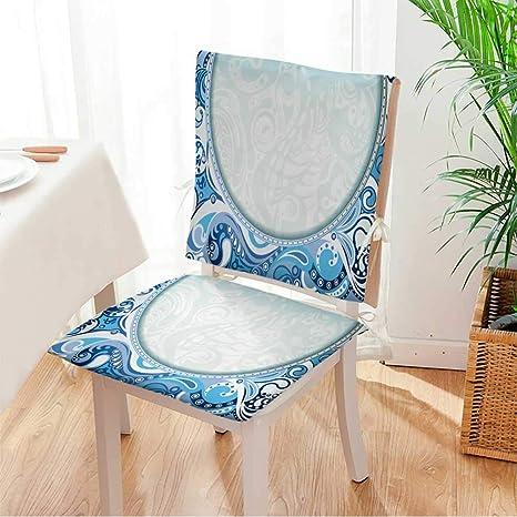 Amazon.com: Miki Juego de asiento para el hogar, cojín de ...