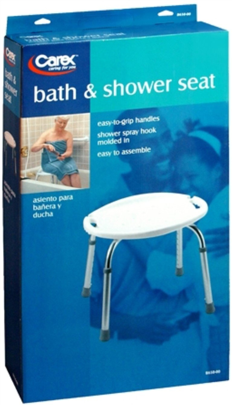 Amazon.com: Carex Bath & Shower Seat B650-00 1 Each (Pack of 2 ...