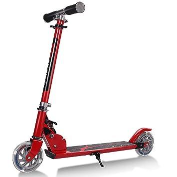 Plegable Stunt Scooter 360 grado 2 rueda aluminio Push Kick ...