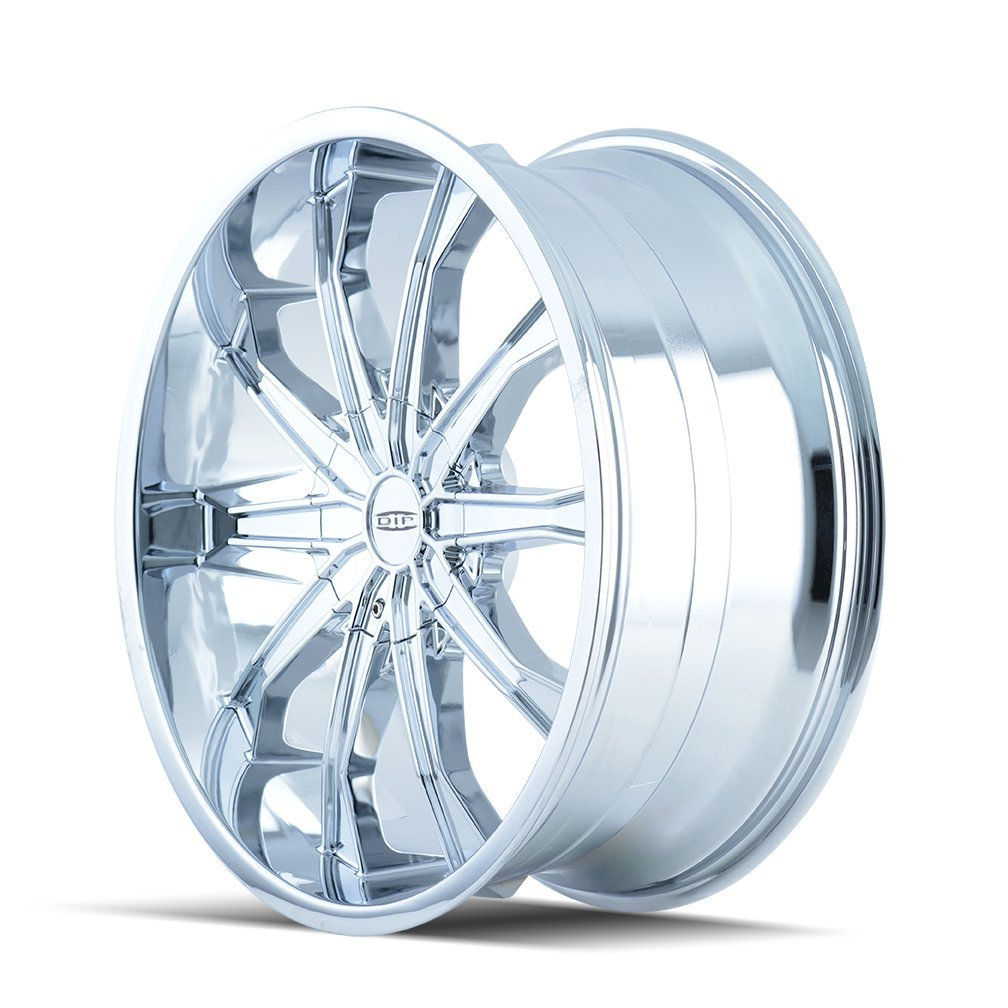 DIP Mortar D99 Wheel with Chrome Finish (22x9.5''/10x115mm)